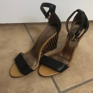 Coach Ankle wedge sandals